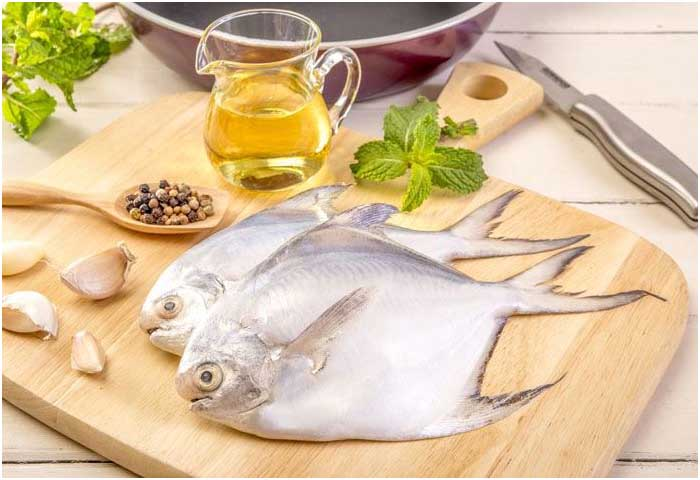 What does pompano fish taste like for Picture of pompano fish