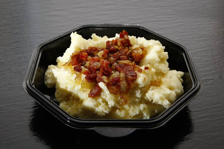 Game Day Tex-Mex Scalloped Potatoes with Bacon