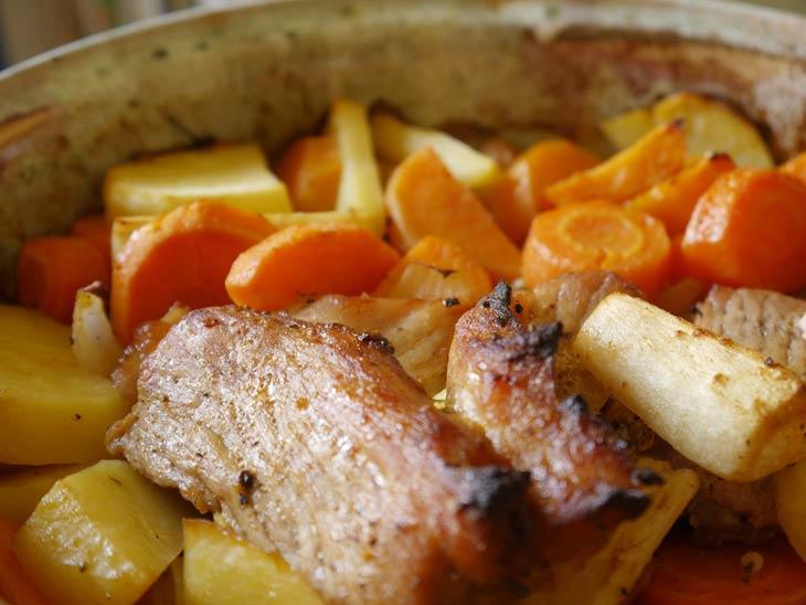 Pork Butt Roast with Apple Rub and Marinade