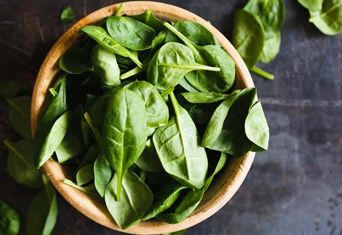 baby spinach nutrition